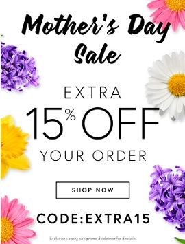 Coupon for: Shop Perfumania Mother's Day Sale