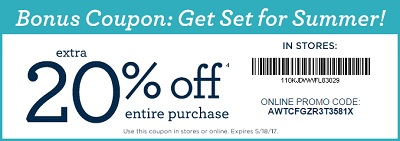 Coupon for: U.S. Gymboree Deal: Get ready for the Summer