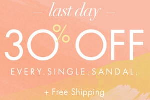 Coupon for: All sandals on Sale at Nine West