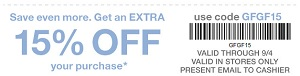 Coupon for: SUMMER SALE at U.S. Gap Factory