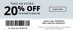 Coupon for: Save with printable coupon at U.S. Payless ShoeSource