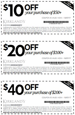 Coupon for: Columbus Day Savings available at U.S. Kirkland's