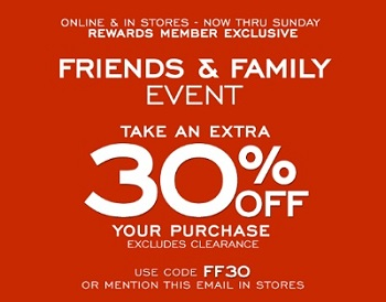 Coupon for: G.H. Bass & Co. Factory Outlet: Exclusive Friends & Family Event