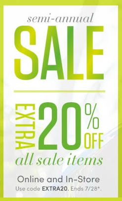 Coupon for: Athleta, extra 20% off