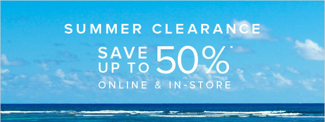 Coupon for: Brooks Brothers, Summer Clearance