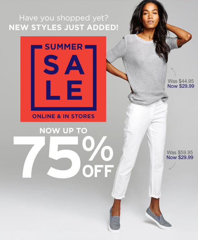 Coupon for: GAP, New styles added to sale