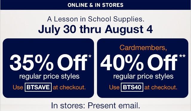 Coupon for: Gap, Big discounts