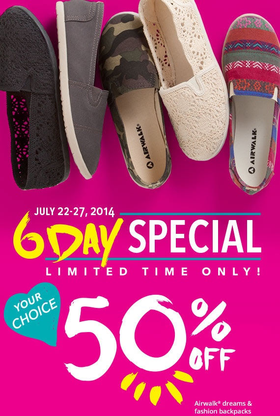 Coupon for: Payless ShoeSource, Back to School Sale