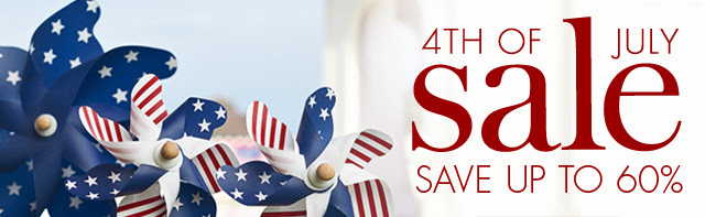 Coupon for: pottery barn kids, 4th of July SALE