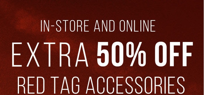Coupon for: Tilly's, red tag accessories&swim wtih ...