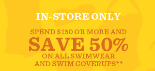 Coupon for: Tommy Bahama, swimwear up to 50% off