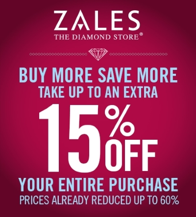 Coupon for: Zales, Buy more, save more