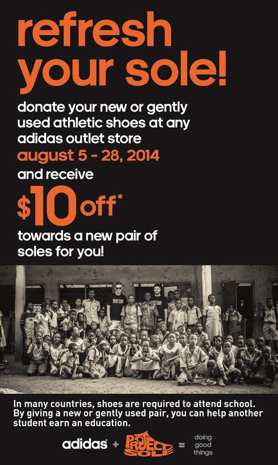 adidas outlet mall coupon